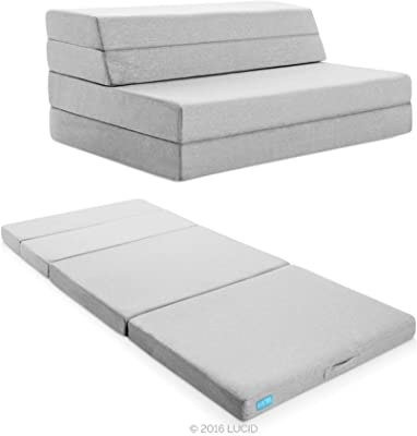 Lucid 4 inches Folding Mattress