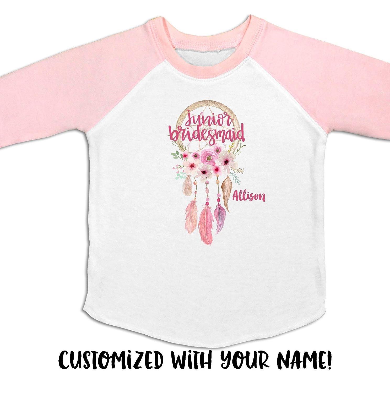0a9b4aa57d75f Amazon.com: Junior Bridesmaid Shirt, Junior Bridesmaid Tee, Gift for ...
