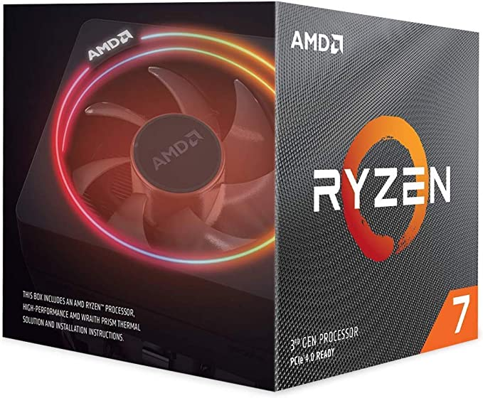 AMD Ryzen 7 3700X 8Core 16Thread Unlocked Desktop Processor with Wraith Prism LED Cooler at Kapruka Online for specialGifts
