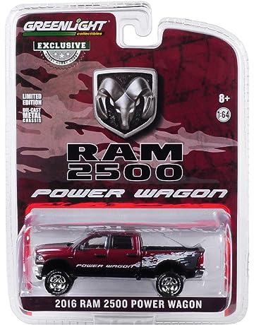 2016 Dodge Ram 2500 Power Wagon Pickup Truck Delmonico Pearl Red Hobby Exclusive 1/64