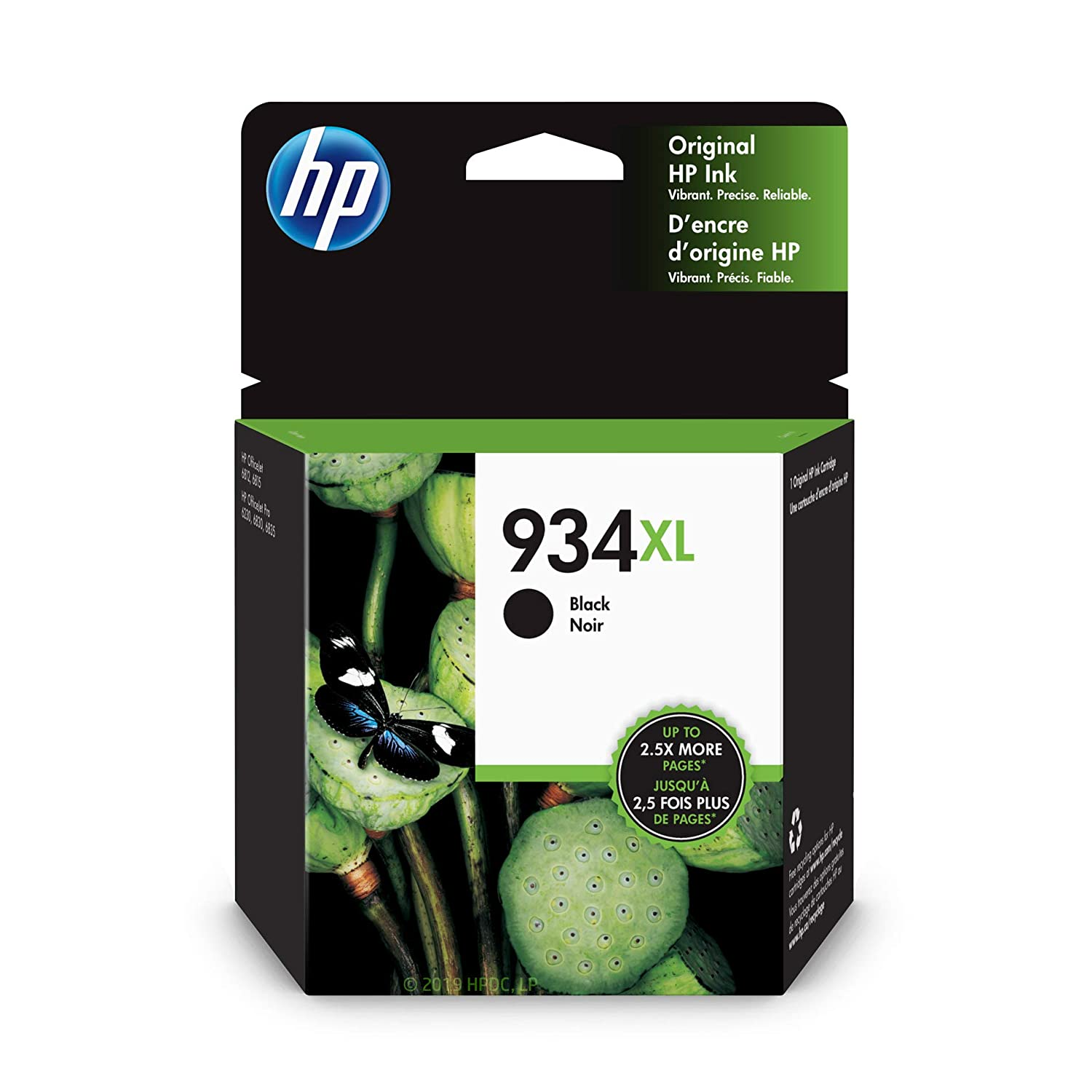HP 934XL Black Ink Cartridge (C2P23AN)