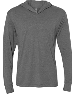 baae9835 PODOM Men's Long Sleeve T Shirt Hoodies Lightweight Pullover Thin ...