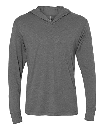 Next Level mens Triblend Long-Sleeve Hoodie (N6021) at Amazon Men s ... 1db3c1676bf
