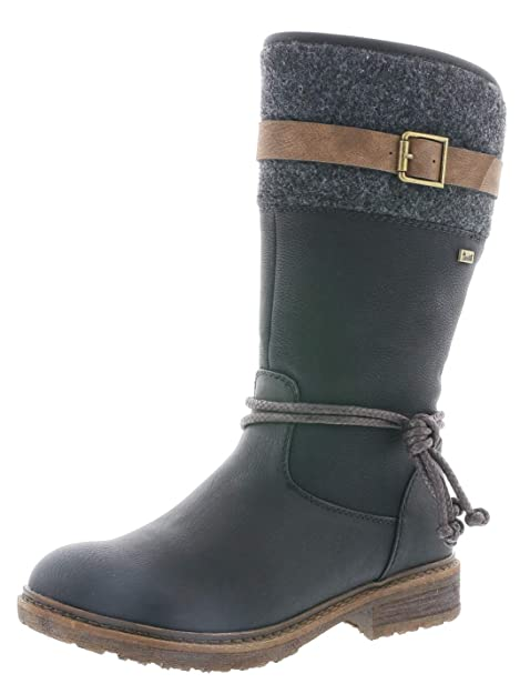 new product 82154 28ed6 Rieker Damen 94778 Hohe Stiefel