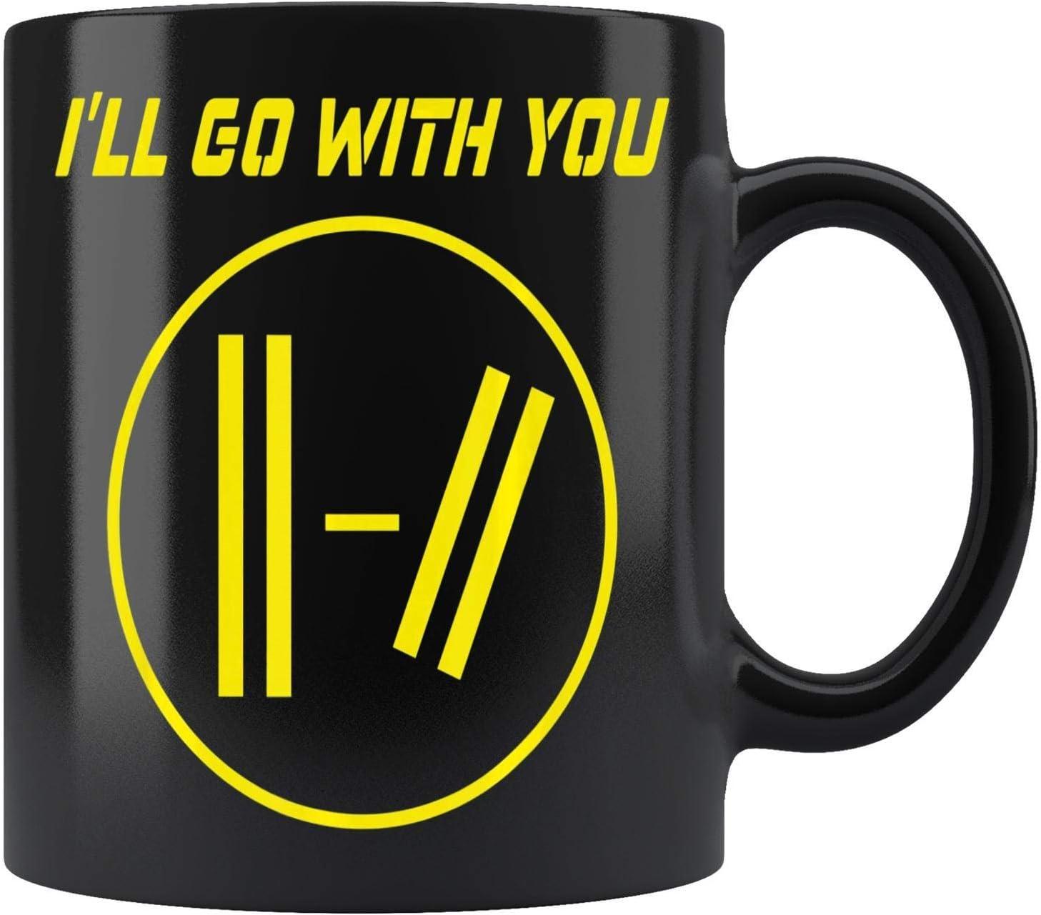 Ill Go With You Pilots -Twenty One Perfect Fanny Gift Mug Coffee Mug 11oz Gift Tea Cups 11oz