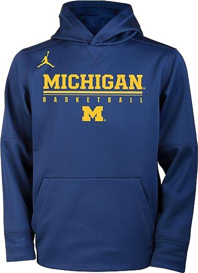 Michigan Jordan Gear >> Amazon Com Jordan Youth Michigan Wolverines Blue Legend
