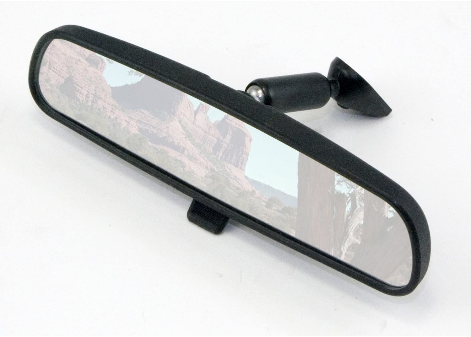 "NEW 10/"" DAY NIGHT REAR VIEW MIRROR REPLACEMENT W SHATTERPROOF GLASS UNIVERSAL"