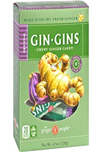 The Ginger People Original Gin Gins Chewy Ginger Candy - 4.5 oz