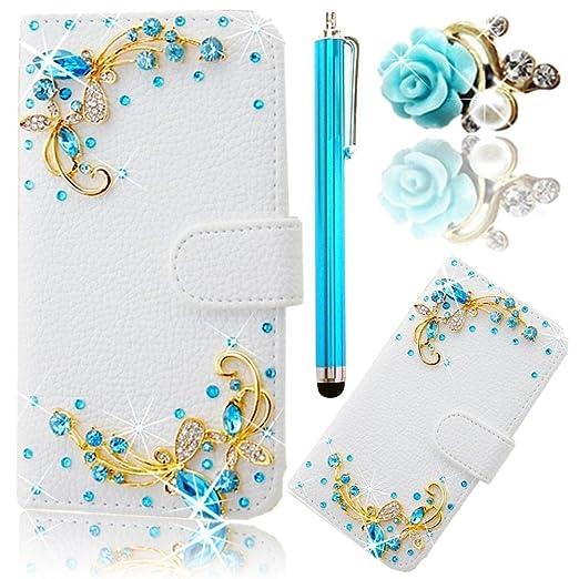 10 opinioni per Vandot Book Style Custodia Case Cover per Huawei P9 Lite 5.2 pollici, 3D