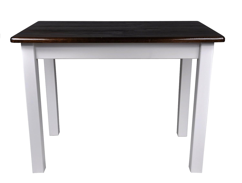 Esstisch Küchentisch Tisch in Massiv Kiefer Speisetisch in Tisch versch. Größen (70x100, Eiche) 6d1d84