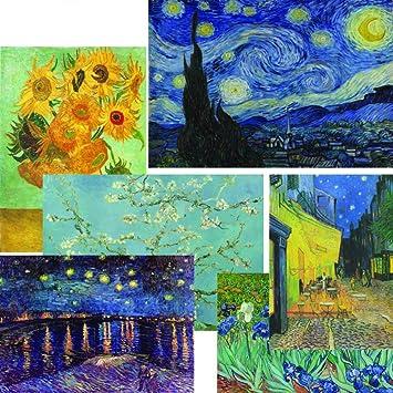 Amazon Com Creanoso Vincent Van Gogh Famous Paintings Poster 12