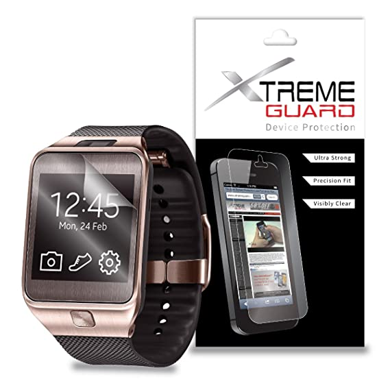 XtremeGuard™ Screen Protector for Samsung Gear 2 Smartwatch (Ultra Clear)