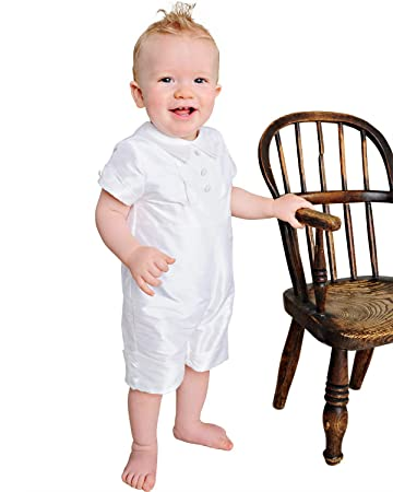933738058 Image Unavailable. Image not available for. Color: Charles Silk Christening  or Baptism Outfit for Boys ...