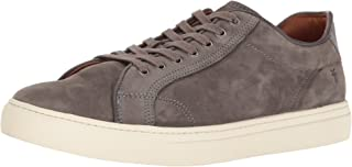 product image for FRYE Men's Walker Low Lace Fashion Sneaker, Slate, 10.5 M US