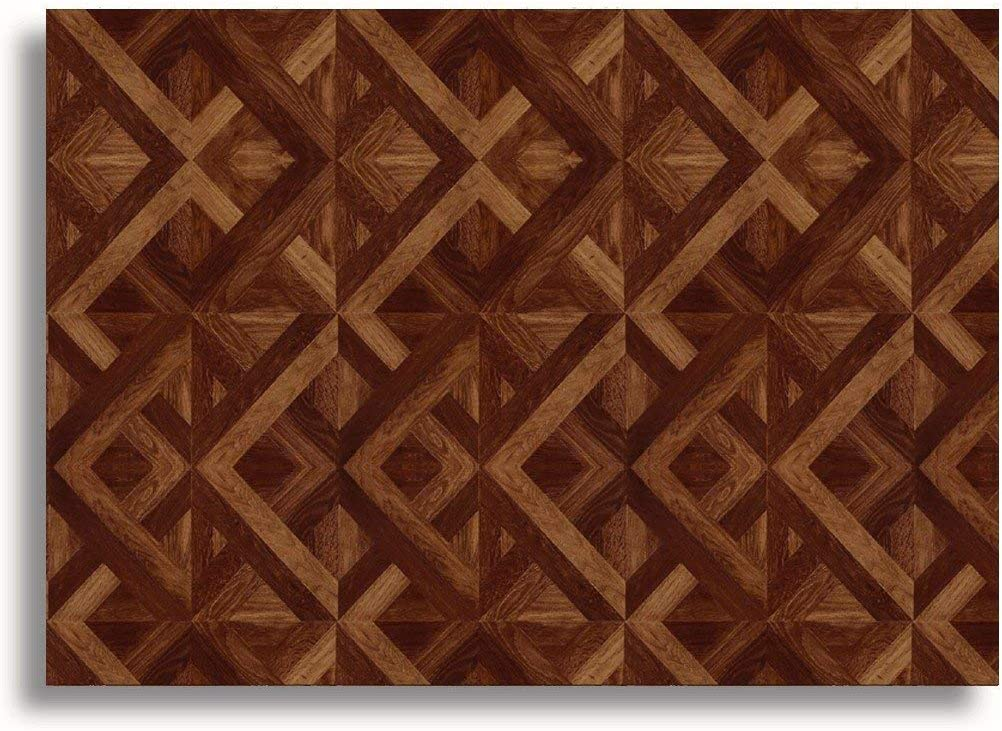 Stick /& Go Self Adhesive Dolls House Wallpaper 1//12th Scale Vinyl Sheets Wooden Parquet Flooring No 54