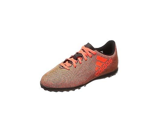 online store 97b70 10404 adidas X 17.4 Tf, Scarpe da Calcio Unisex-Bambini, Giallo (Solar Yellow