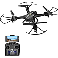 Holy Stone HS200 FPV RC Drone with HD Wifi Camera Live Feed 2.4GHz 4CH 6-Axis Gyro Quadcopter with Altitude Hold, Gravity Sensor and Headless Mode RTF Helicopter