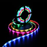 SUPERNIGHT 16.4ft 5050 SMD RGB 150 LED Strip Light 2811 IC Chasing Magic Dream Color Lights (Not include Programmable Controller)