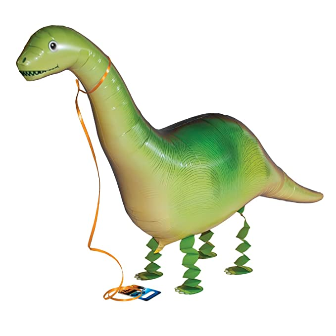 Amazon.com: Dinosaurio hinchable Walking Mylar Globos: Toys ...