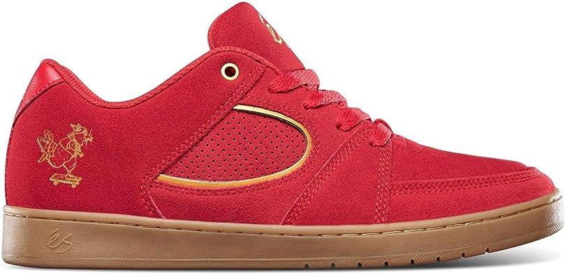 eS Accel Slim x CNY Skate Rat (Red/Gold