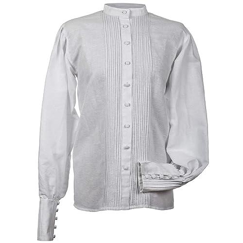 Camisa o blusa tradicional para mujer. Modelo Marín.