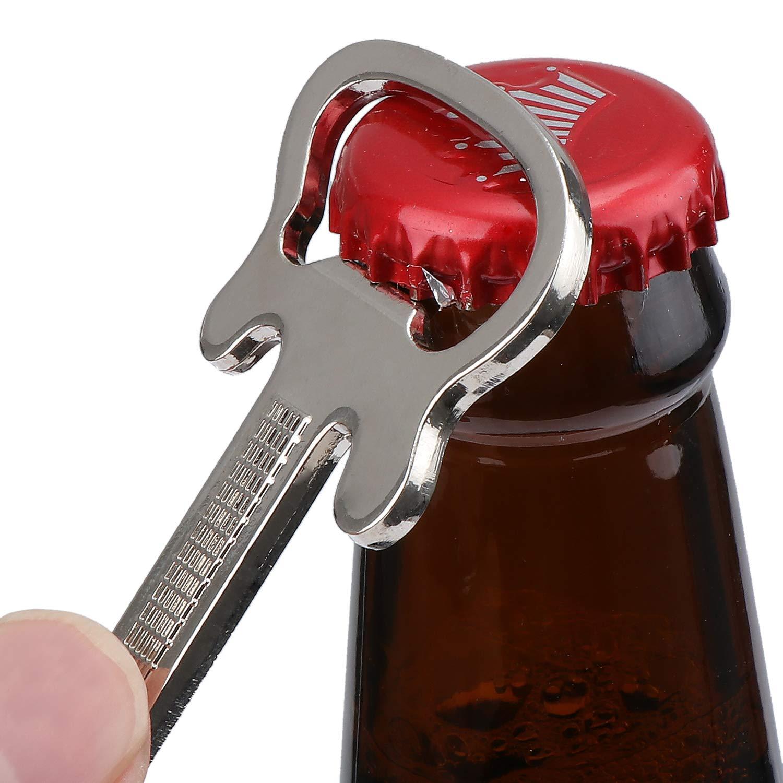 abridor de llaveros abrebotellas con llavero TsunNee abridor de botellas con forma de guitarra 10 unidades