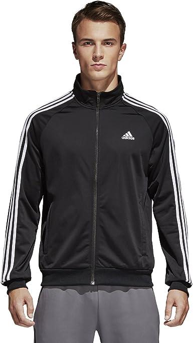 adidas Essentials 3 Streifen Tricot Trainingsjacke Herren