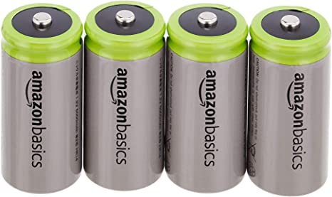 Amazon.com: AmazonBasics - Pilas recargables (Ni-MH, 1000 ...