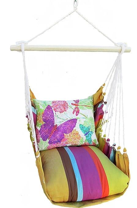 Amazon Com Magnolia Casual Cafe Soleil Swing Chair Garden Outdoor