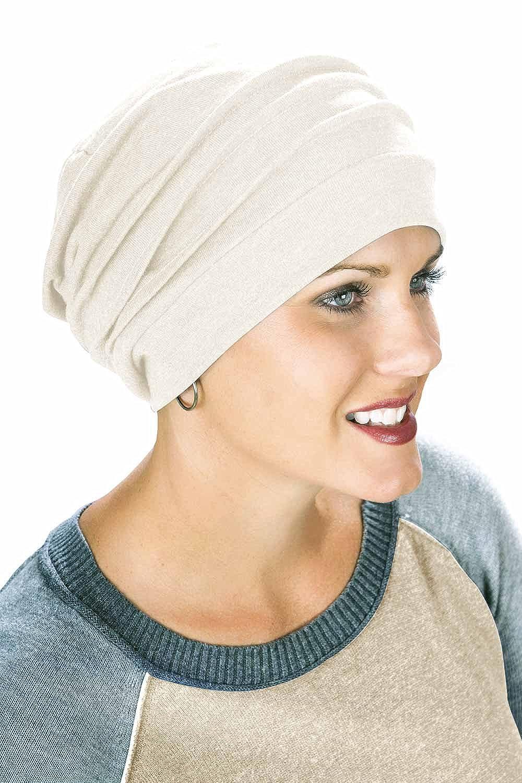 100% algodón Slouchy Gorra: Head cubrir, Moño, Cáncer sombreros ...