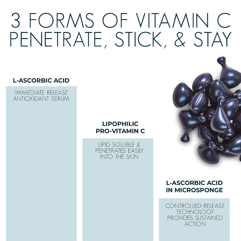 Amazon.com: CerumWORX Day Serum: 10% cápsulas de vitamina C ...
