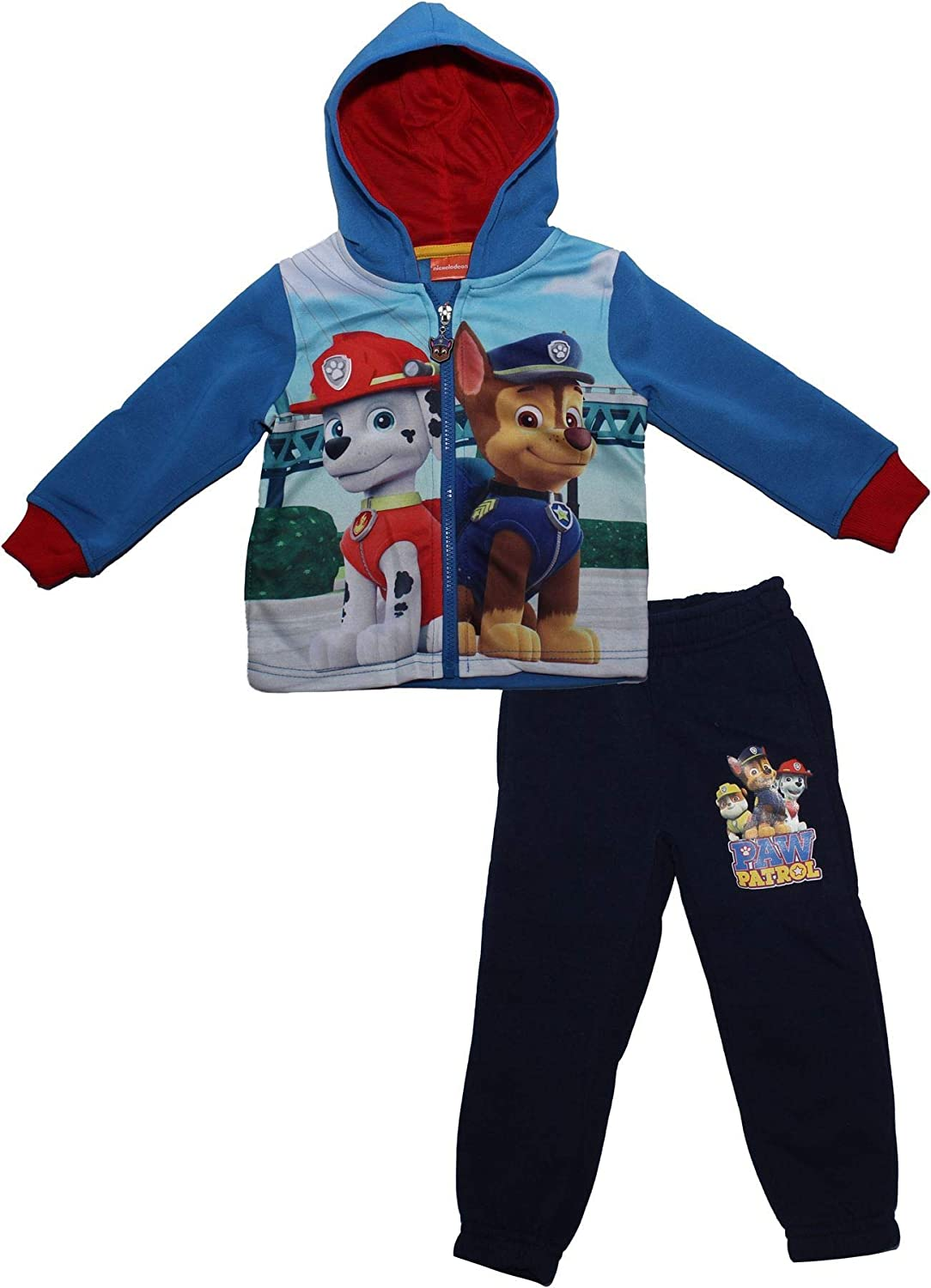 Paw Patrol Boys Children's Pups Skydive Hodded Tracksuit Skydive Blue 4-5 Years 24306_119429