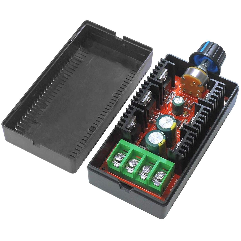 12V 24V 48V 2000W MAX 10-50V PWM HHO RC Controller ALONGB 40A DC Motor Drehzahlregelung