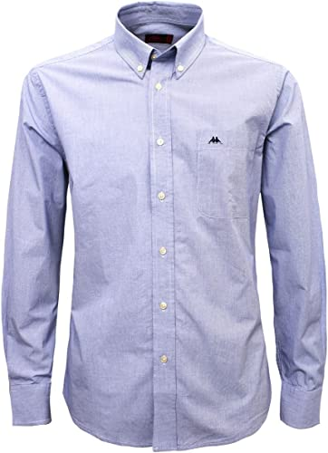 Robe di Kappa - Camisa Casual - para Hombre Azul Size: 3X ...
