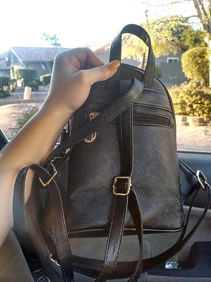 Girls Bowknot Cute Leather Backpack Mini Backpack Purse for Women So cute!