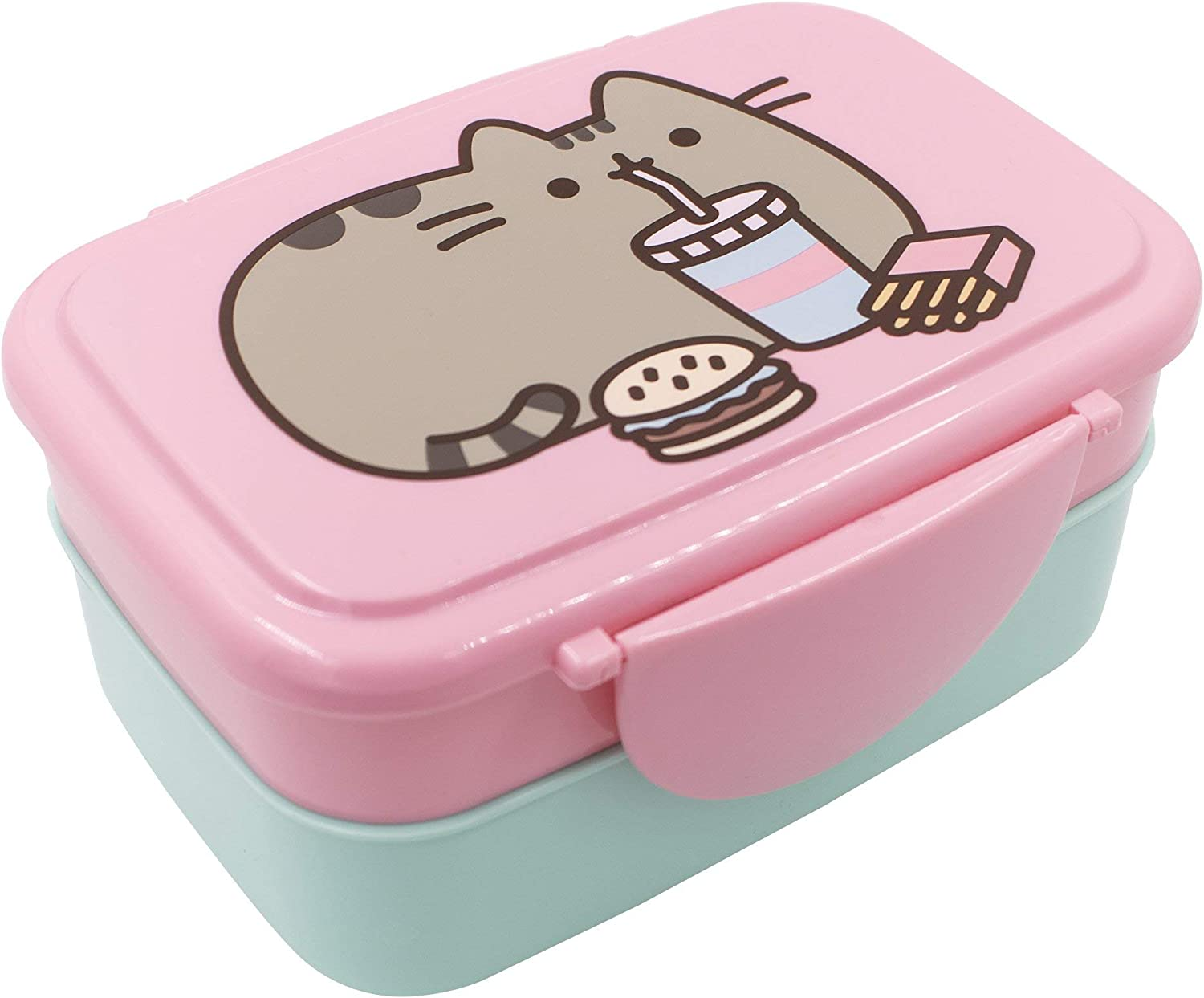 Pusheen The Cat Fast Food Bento Lunch Box