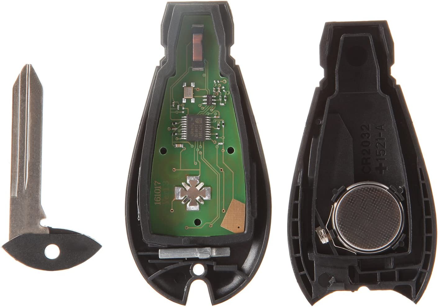 OCPTY 1X Uncut Keyless Entry Remote Control Key Fob Replacement fit for Specific Chrysler Dodge Volkswagen Routan Series M3N5WY783X IYZ-C01C IYZC01C IYZ-CO1C