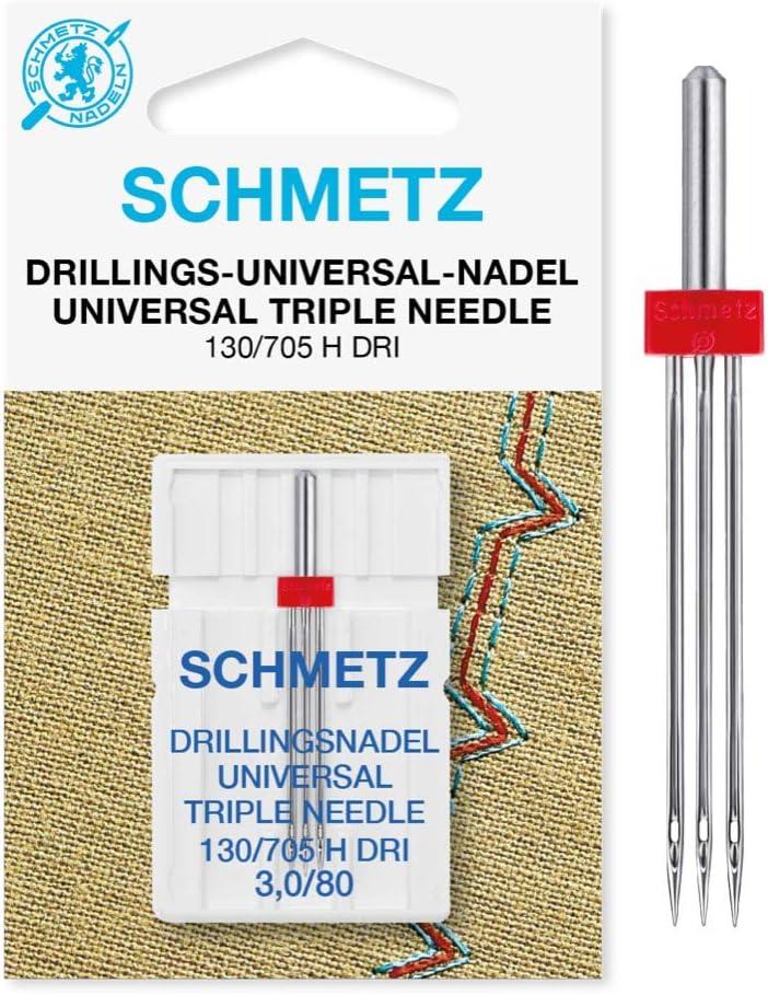 Drilling Schmetz aguja 130/705 horas DRI - 3,0 x 80 ideal para puntadas de adorno