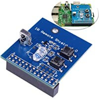 IR Transmitter Infrared Remote Hat Expansion Board 38KHz Transceiver Shield for Raspberry Pi RPi B+/2B/3B