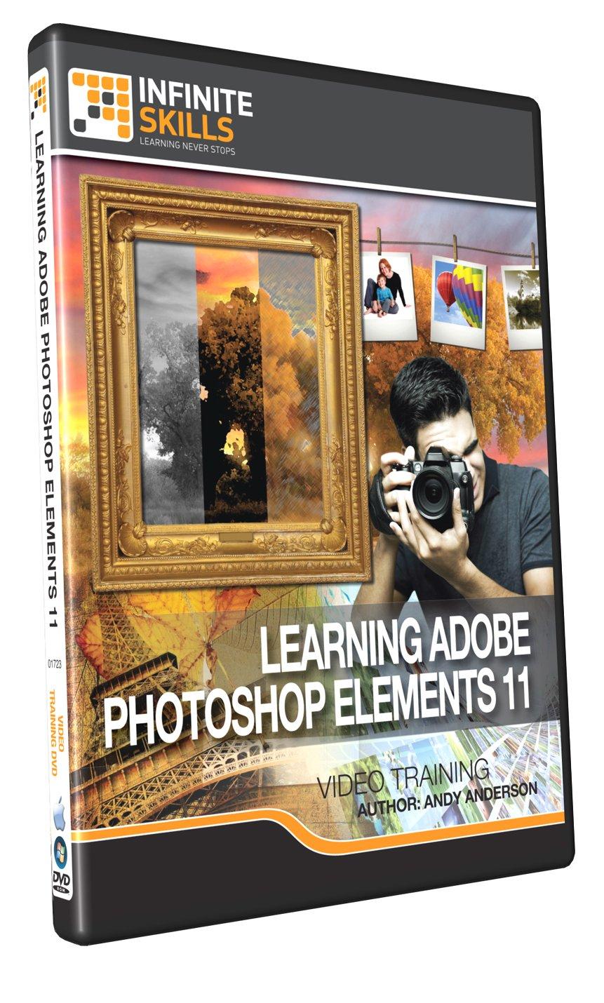 Amazon infiniteskills adobe photoshop elements 11 training dvd baditri Images