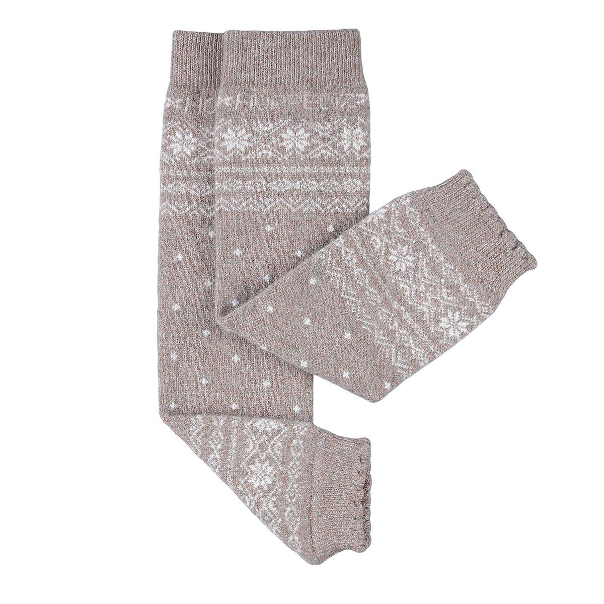 Hoppediz cashmere/lana merino Baby Leg Warmers (norvegese sabbia) HOPPEDIZ GmbH & Co. KG Stn-nat