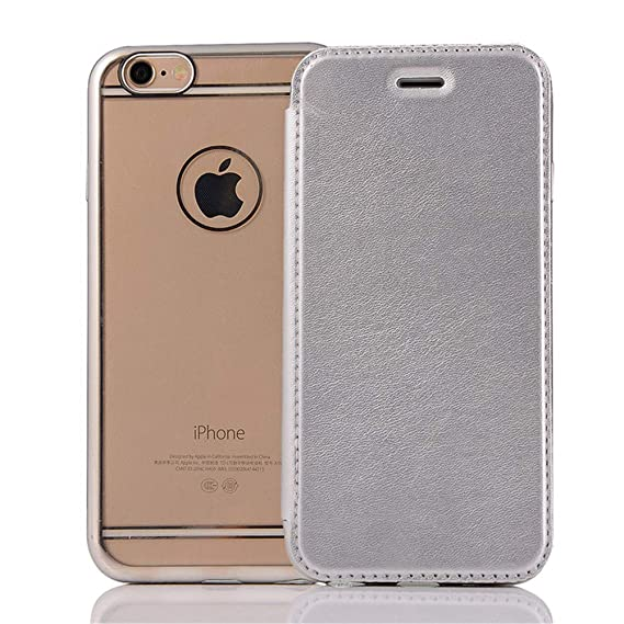 Image Unavailable. Image not available for. Color  Flip Wallet Leather Case  for iPhone 5 5S SE 6 6S Plus Luxury Ultra Thin Soft 135e0f134e