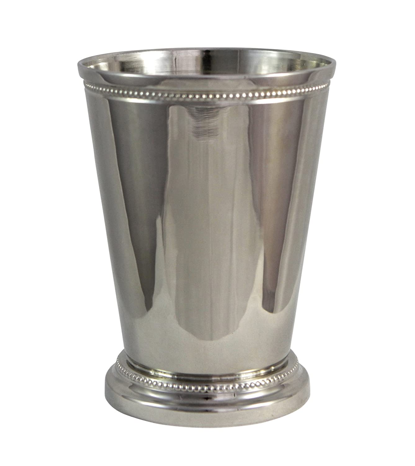 Amazon moscow mule mint julep cup 12 oz nickel plate amazon moscow mule mint julep cup 12 oz nickel plate beautifully beaded trim edging mint julep cups capacity 12 ounce by alchemade mint julep cups reviewsmspy