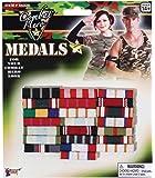 Forum Novelties 66226 Military Medal Bars, One Size