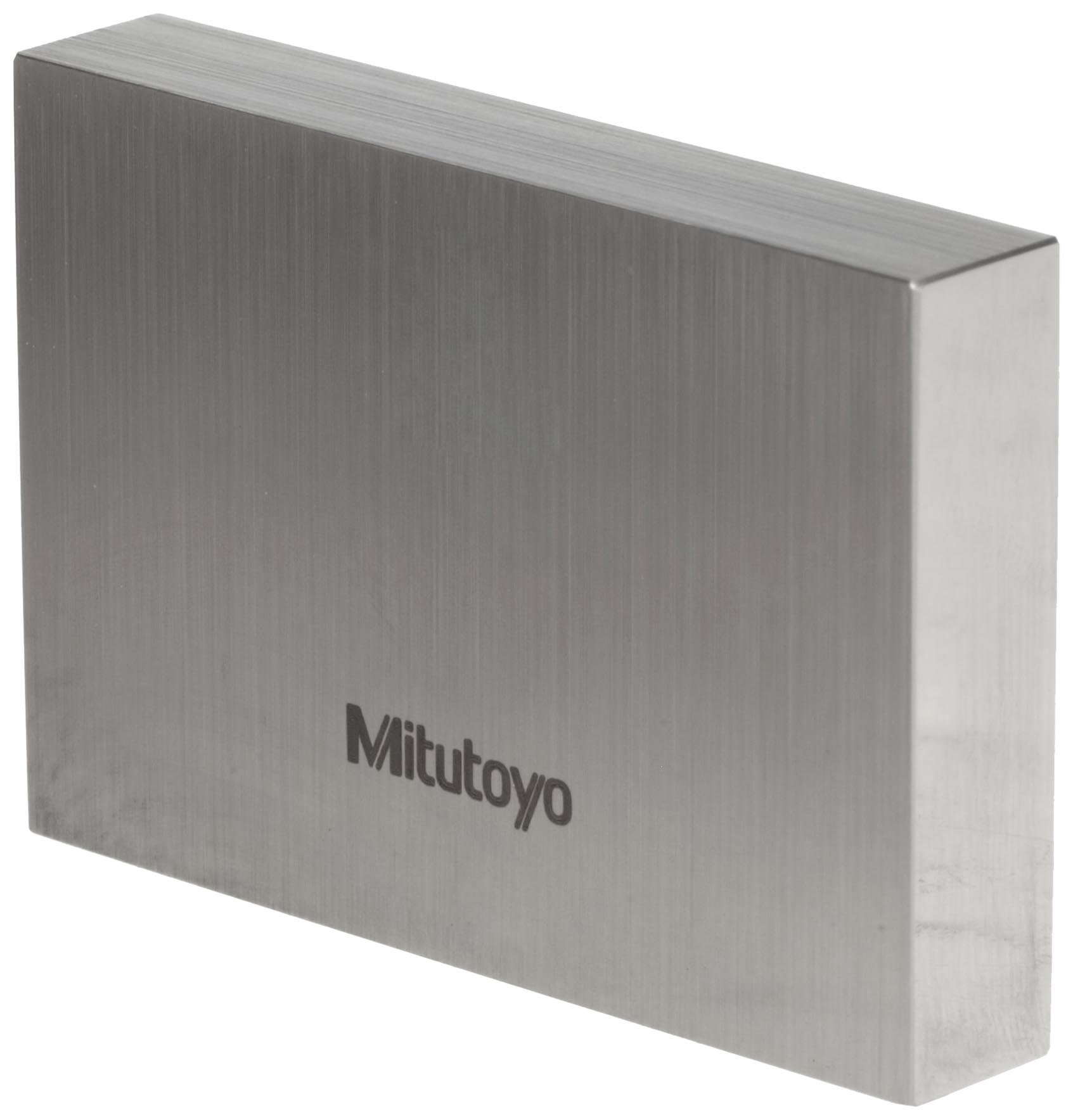 Mitutoyo Steel Rectangular Gage Block, ASME Grade AS-1, 0.75'' Length