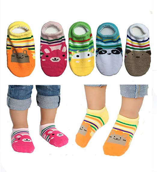 Amazon Com Baby Girl S Socks Anti Slip Skid Socks For Infants And
