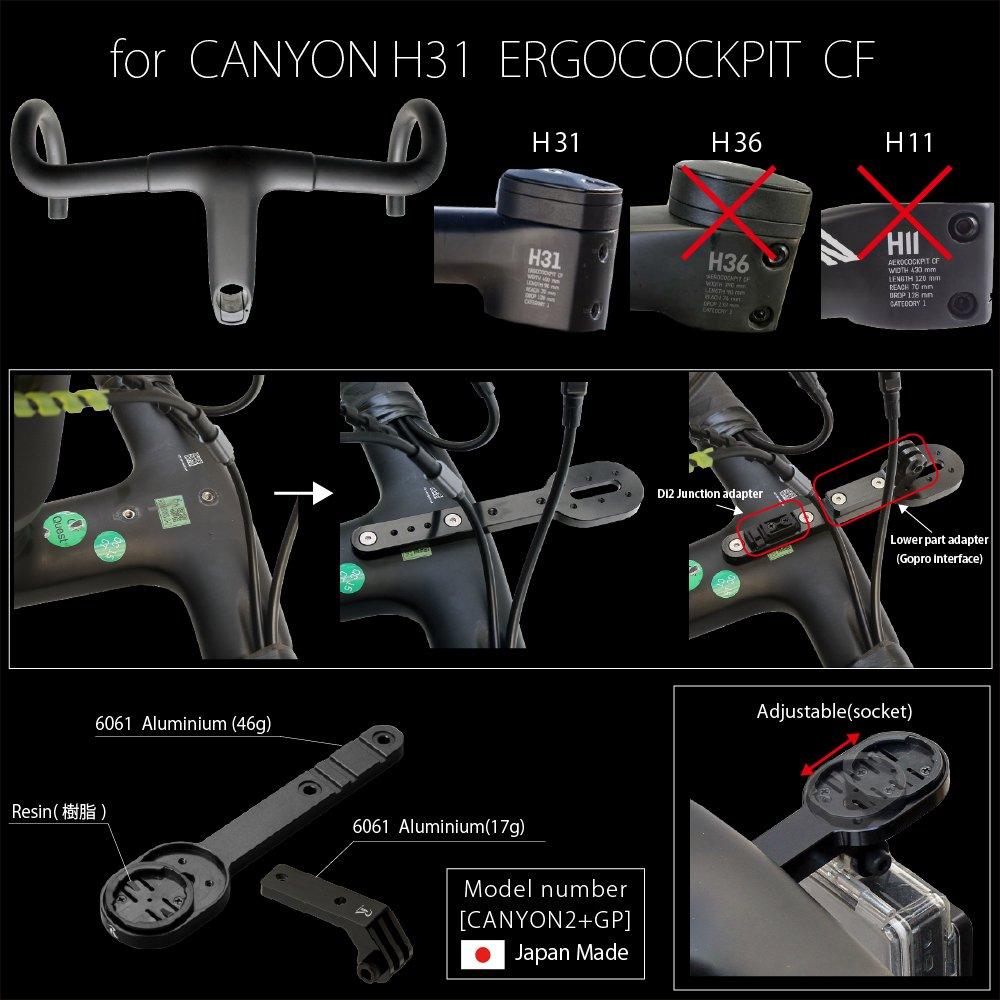 REC-MOUNTS CANYON H31 ERGOCOCKPIT CF combo model