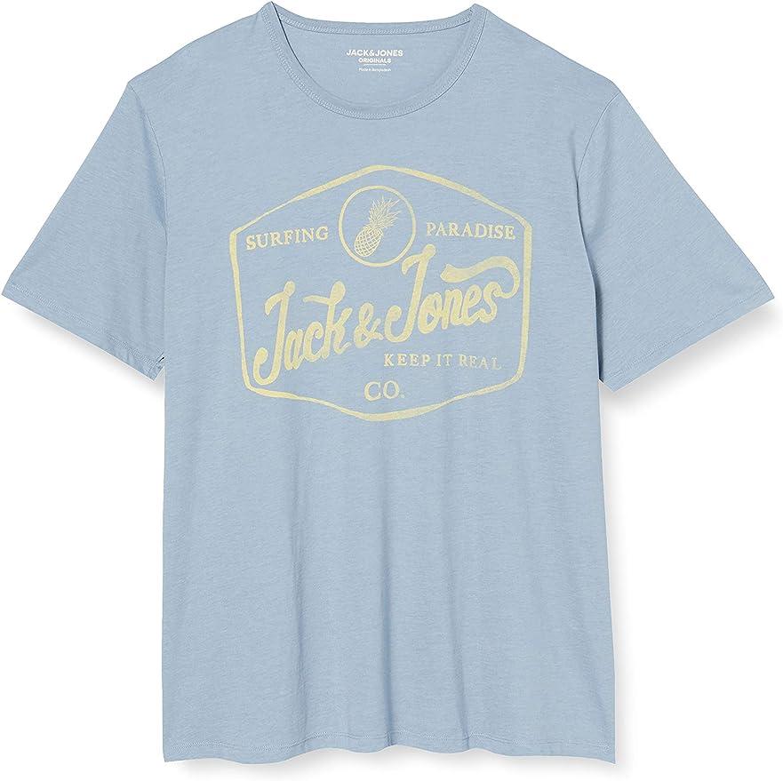 Jack & Jones Jornamen tee SS Crew Neck PS Camiseta para Hombre: Amazon.es: Ropa y accesorios
