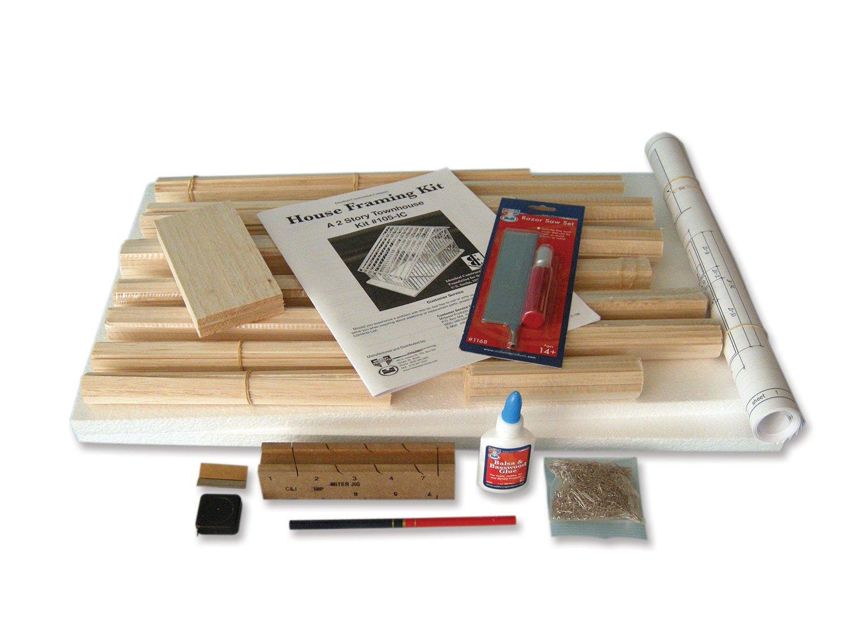 Brodhead Garrett Two-Story Townhouse Framing Kit: Science Lab ...