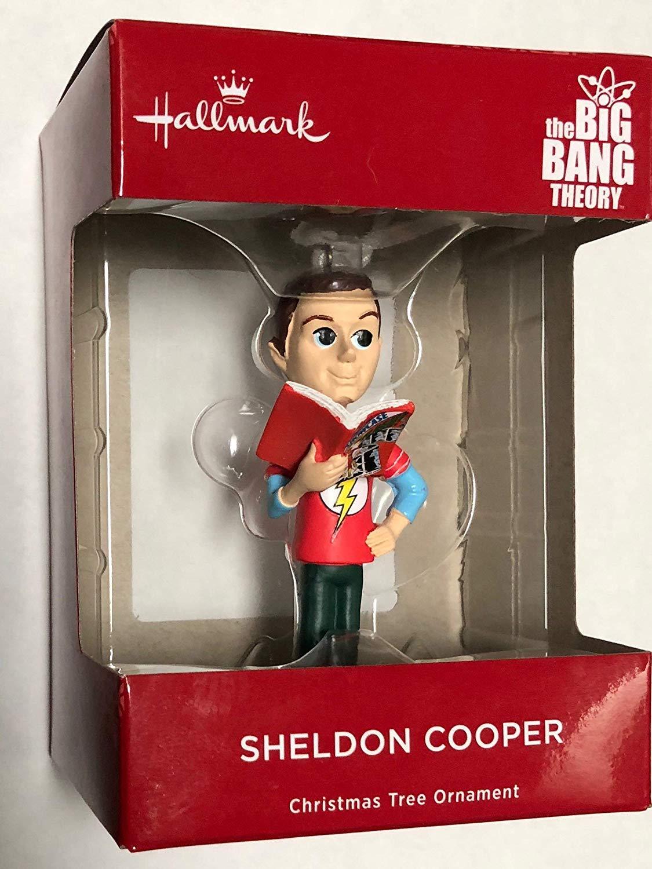 Hallmark 2018 The Big Bang Theory Sheldon Cooper Christmas Ornament